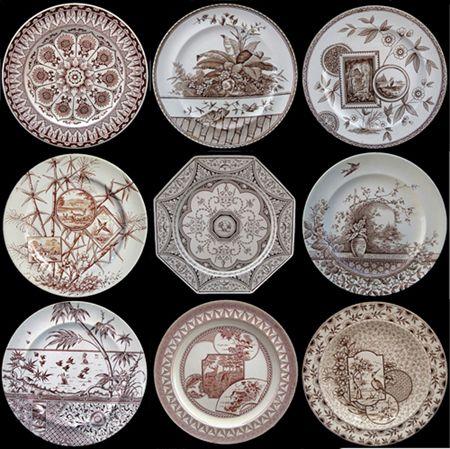 Staffordshire Pearlware Transferware Creamware 19th Century Staffordshire Aesthetic Transferware Ceramics