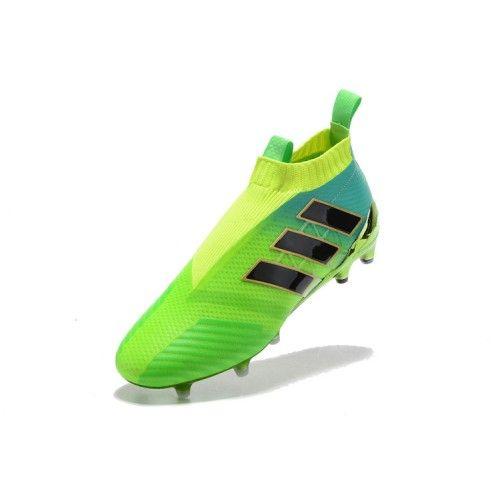 finest selection f9609 79abb ... Nuevo Adidas ACE 17 Purecontrol FG Verde - Botas De fútbol Adidas ACE  17+ Purecontrol