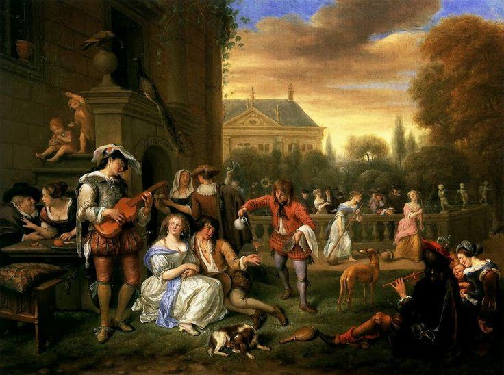 Steen, Garden Party 1677