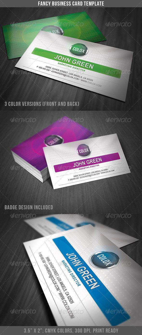 58 best business card ideas images on pinterest business card fancy business card template reheart Images