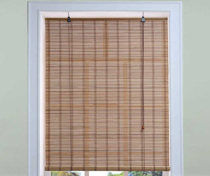 "Kitchen Curtains At Big Lots: Light Bamboo Roll-Up Blind, (36"" X 72"") At Big Lots"