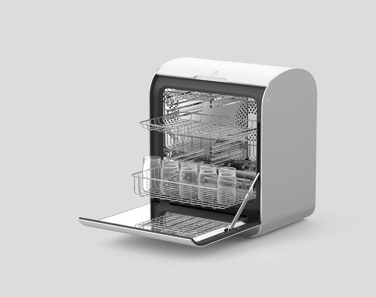Parentory sterilizer on behance sterile coffee maker