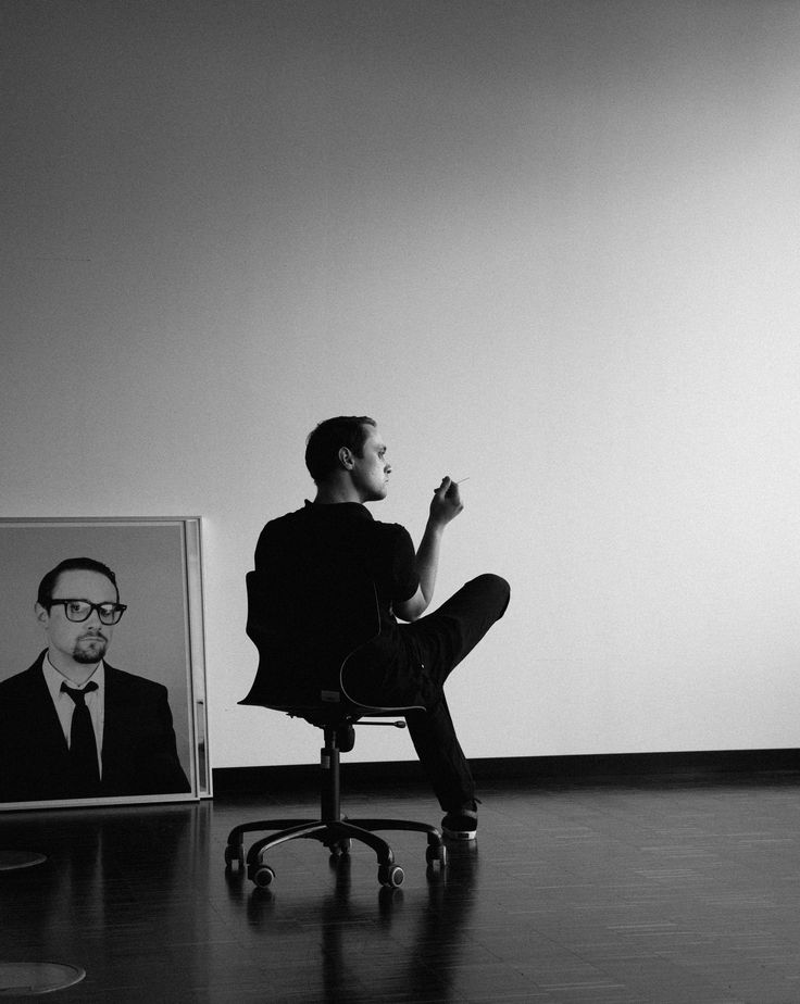 Tobias Suppan – Selfportrait