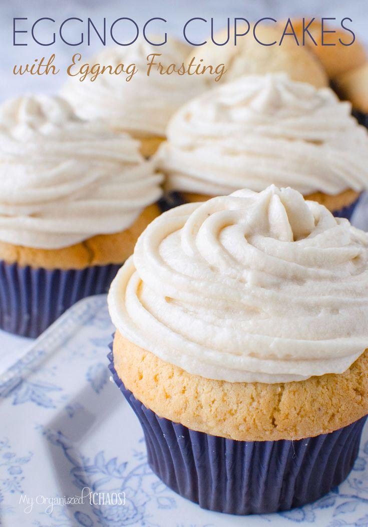 Eggnog Cupcakes With Box Cake Mix