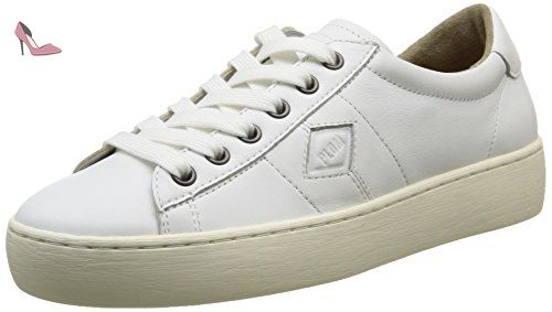 PLDM by Palladium Loma Cash, Baskets Basses Femme, Blanc (420 White), 39 EU - Chaussures pldm by palladium (*Partner-Link)