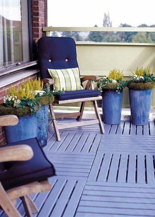 De la couleur pour mon balcon - Marie Claire Maison. Terrace. Terrazzo. Outdoor Living.
