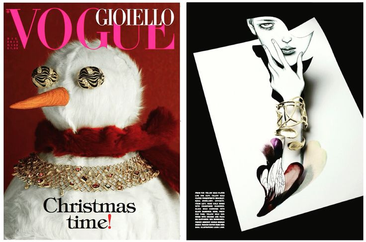 b | tal jewellery Vogue Gioiello / Dec 2015 issue