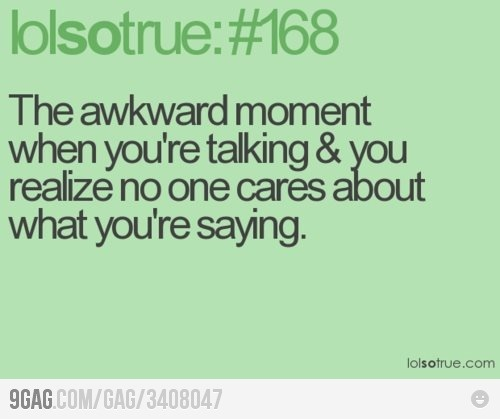 all the time >:(
