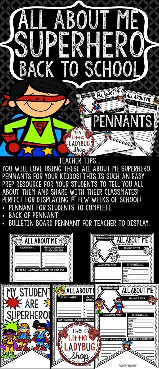 Best 25+ Back to school superhero ideas on Pinterest ...