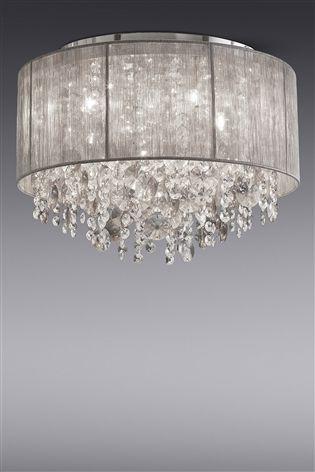 Palazzo 4 Light Flush Fitting Light Fittings Living Room Bedroom Light Fittings Lounge Ceiling Lights