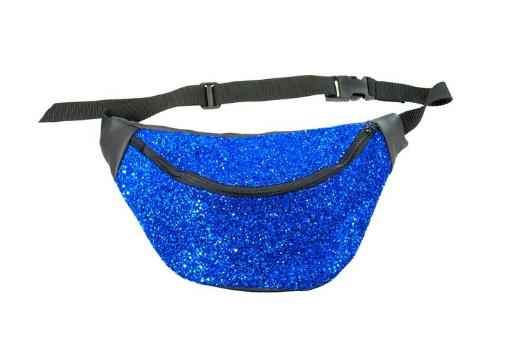 Electric Blue Glitter Bumbag. By Beksies Boutique