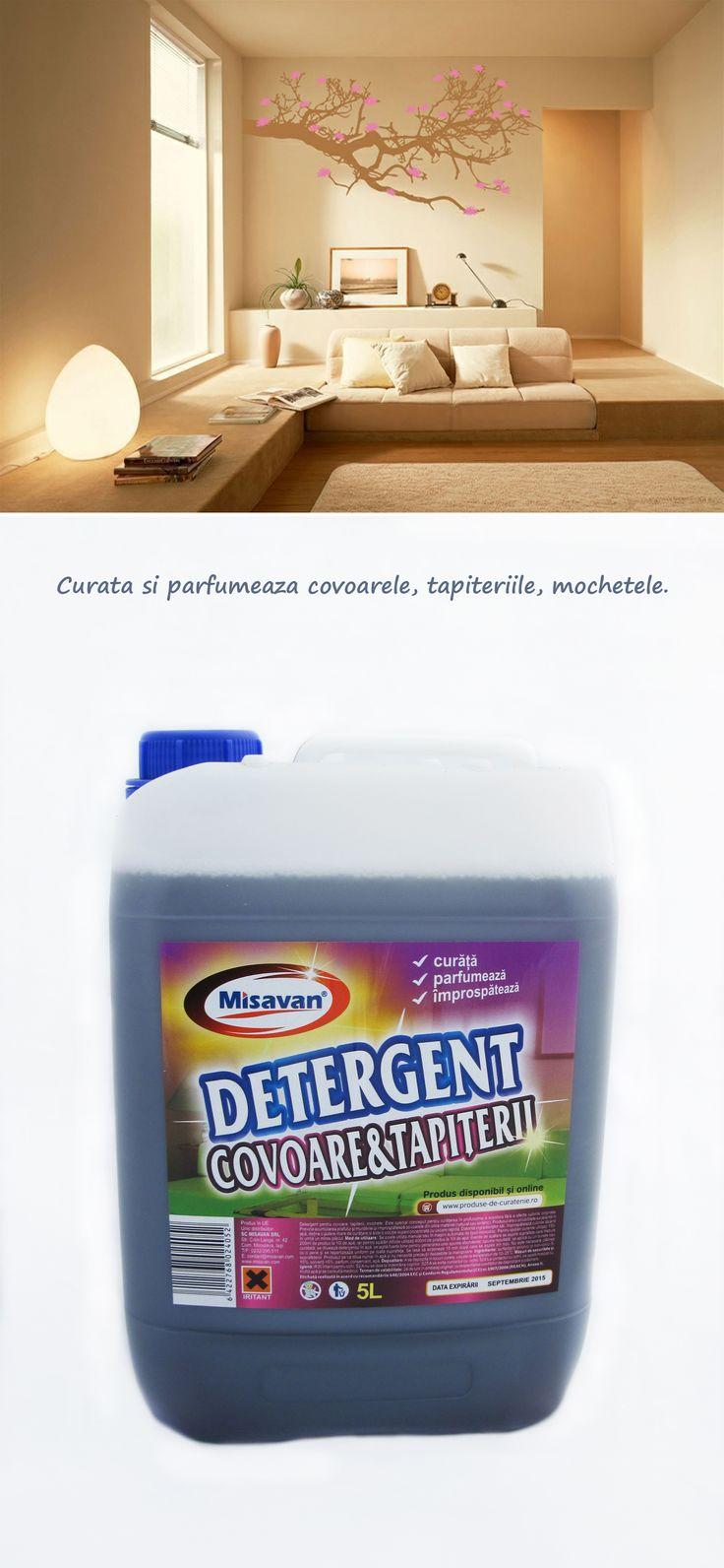 Va recomandam un produs ce curata covoarele, mochetele, tapiteriile: http://www.produse-horeca.ro/tratamente-suprafete-servicii/misavan-covoare-tapiterii-5l #curatenie #misavan. Simplu si eficient: curata, parfumeaza si nu afecteaza culorile.