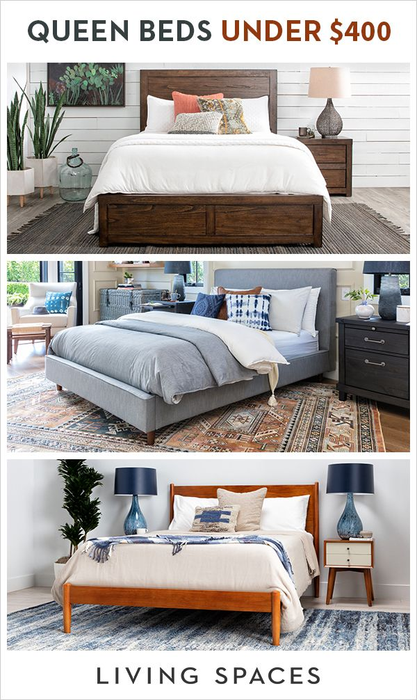 Stylish Queen Beds To Update Your Bedroom Without Breaking The Bank Find A Wide Selection Of Queen Bed Cool Dorm Rooms Bedroom Furniture Makeover Home Bedroom