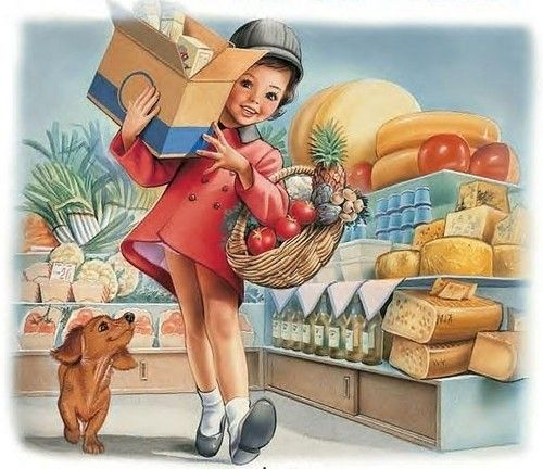 Martine fait ses courses