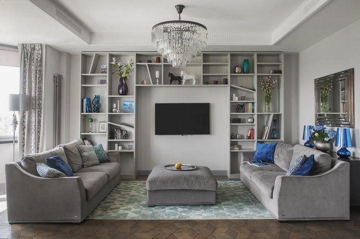 Интерьер недели: двухкомнатная квартира в серых тонах   Свежие идеи дизайна интерьеров, декора, архитектуры на InMyRoom.ru