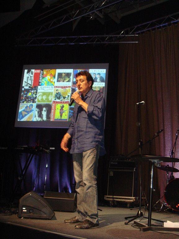 Manolo García en el Festival Primera Persona de BCN ( 2014 )