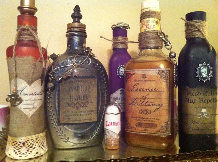 Apothecary Halloween Decor