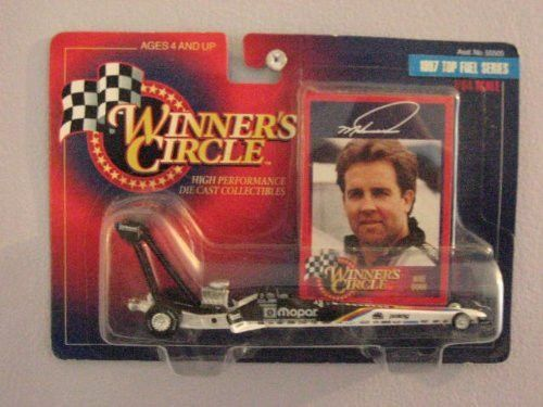 Winners Circle 1/64 Scale diecast with collectible card Mike Dunn 1997 Top Fuel Series