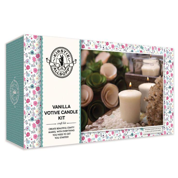 Kirstie Allsopp Vanilla Votive Candle Kit | Hobbycraft