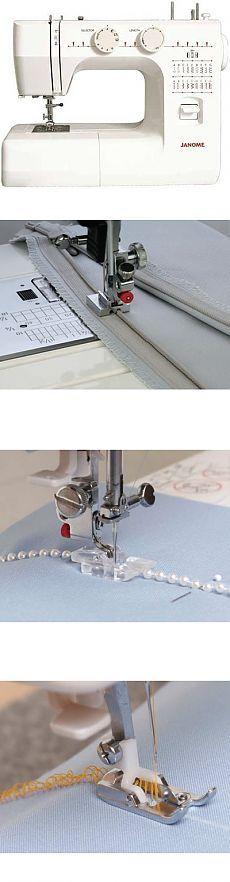 Как пользоваться дополнительными лапками для швейных машин JANOME и FAMILY.