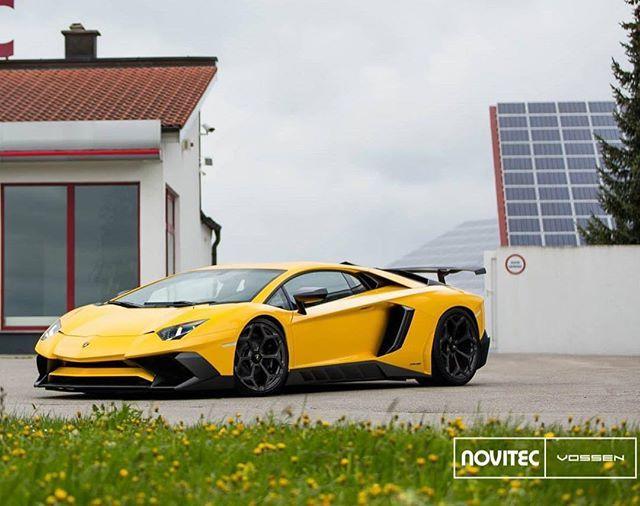 #Novitec #Lamborghini #Aventador #SV @vossen @novitecgroup