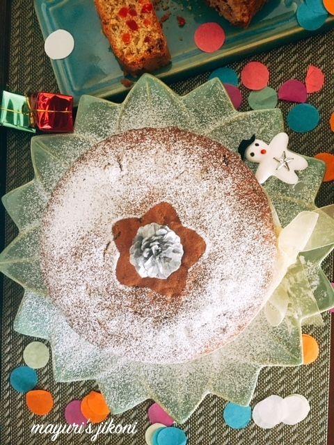 Mayuri's Jikoni: 735. Easy Christmas Cake