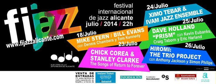 FIJAZZ Alicante Festival Internacional de Jazz