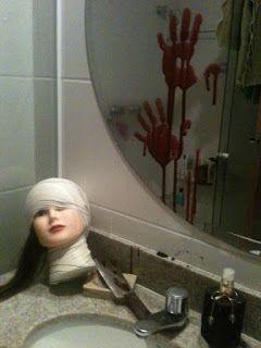 Decoração Banheiro hallowen