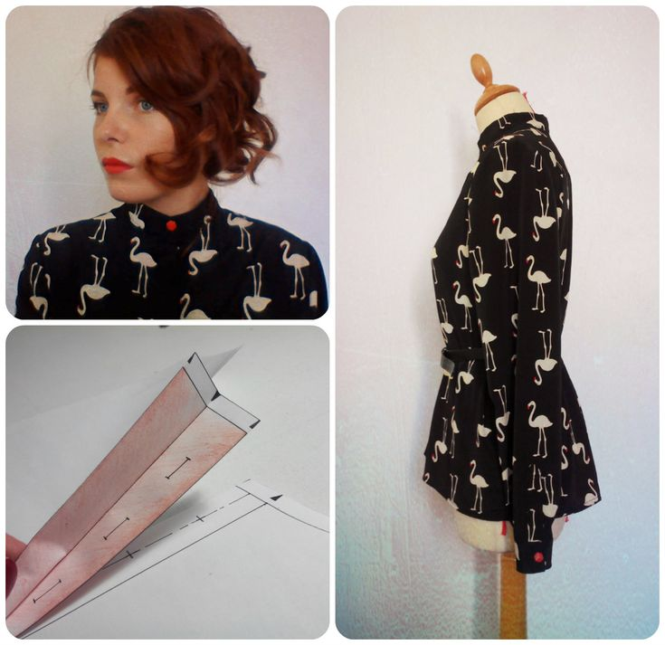 Couture/ DIY- CHEMISIER À BOUTONNAGE INVISIBLE - Hidden buttoning
