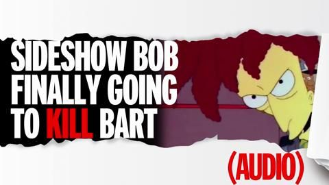 Is Sideshow Bob really going to finally kill Bart Simpson?