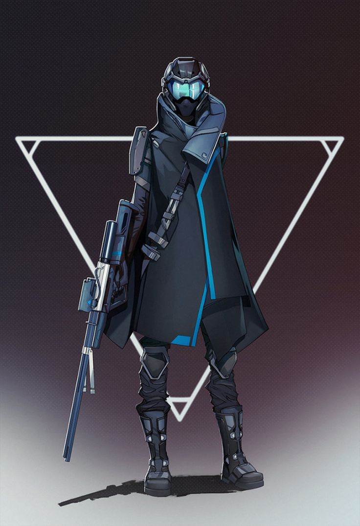 Sci-fi Mercenary (this reminds my of a diff version for Master Chief)