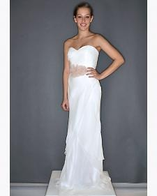 New wedding dresses by Coren Moore from the designer's Fall 2012 bridal runway collection.