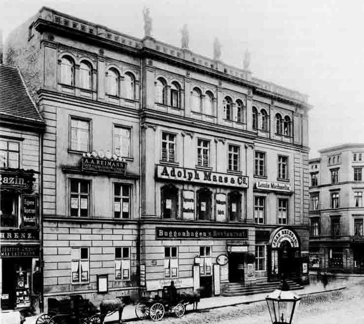 das derfflingerhaus foto georg bartels um 1888 berlin 1888 pinterest vorher nachher. Black Bedroom Furniture Sets. Home Design Ideas