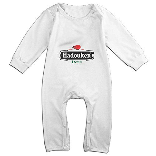 Raymond Hadouken Beer Long Sleeve Baby Climbing Clothes White 24 Months -- Read more reviews of the product by visiting the link on the image.