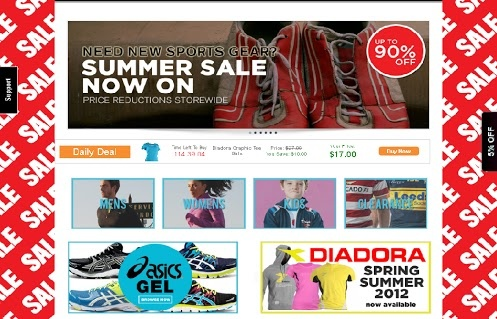 90% OFF at all #sporting #goods including gym, basketball, tennis, rugby, badminton, soccer etc.