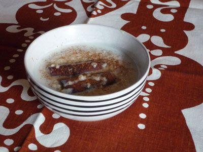 Pot barley porridge - a real scandinavian christmas treat