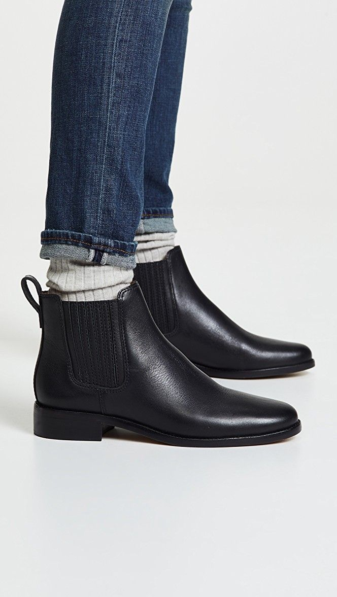 976cfd056db Madewell The Ainsley Chelsea Boots