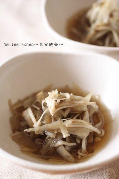 レシピ【便秘解消に!!ごぼうとえのきのさっと煮】&みきママ