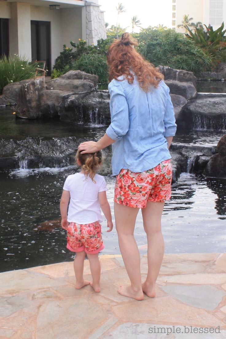 Ladies Hepburn Shorts Pattern Emporium Blog Tour Simple. Blessed.