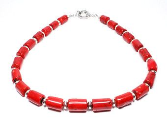 Orecchini di corallo rosso  corallo Orecchini  gioielli in
