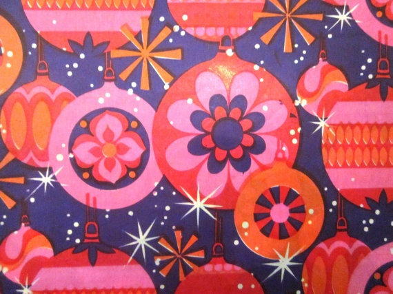 Vintage Wrapping Paper - Christmas