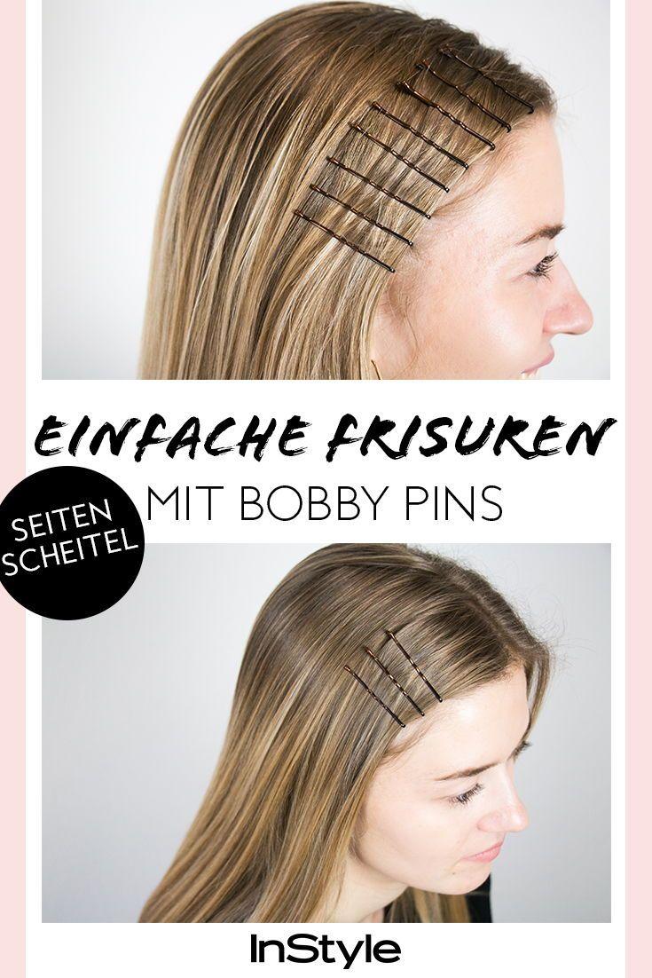 Beauty Trend 3 Einfache Frisuren Mit Bobby Pins Die Super Stylish