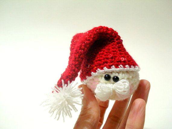 Amigurumi Christmas Decorations : Pattern - Amigurumi Santa Claus Pattern, Crocheted Santa ...