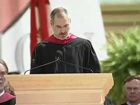 Brilliant man. Hear this.   How to live before you die - Steve Job explains