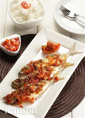 Femina.co.id: Ikan Bakar Rica-Rica #resep