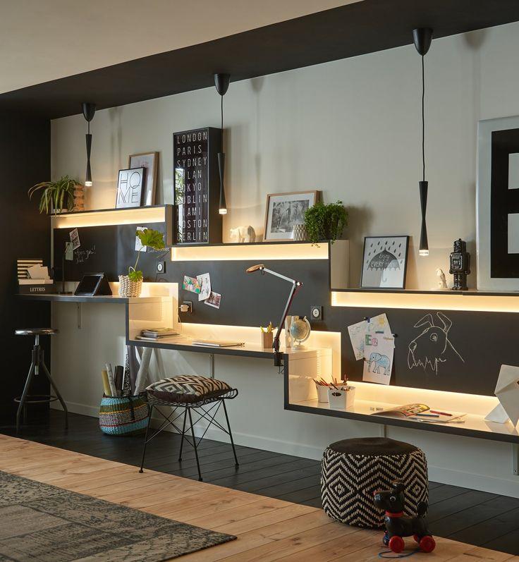 25 beste idee n over kind bureau op pinterest kinderen bureau gebieden kinderen huiswerk - Witte steen leroy merlin ...