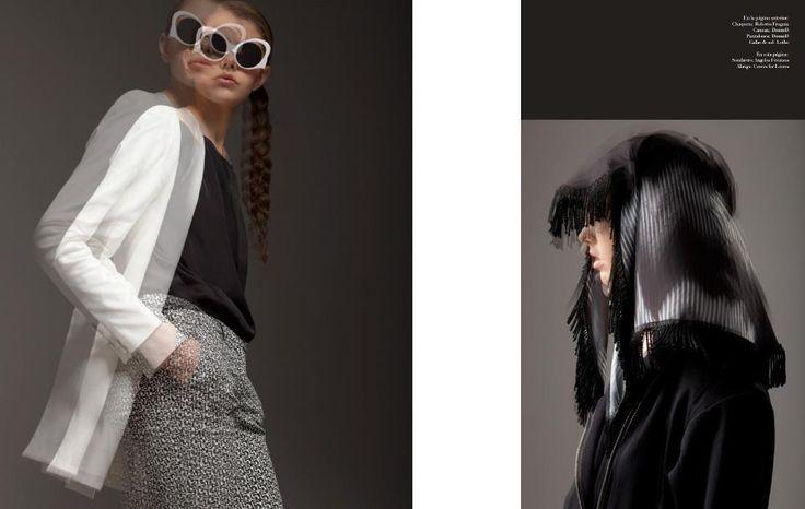 Douuod su Dash Magazine di febbraio 2013 #fashion #photoshooting