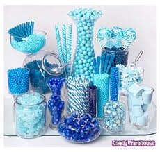 blue and white lolly buffet - Google Search