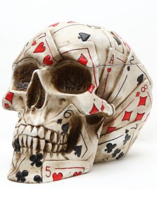 """Poker"" Skull by Pacific Trading"