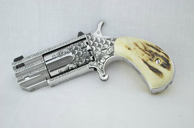 Hand Engraving North American Arms Pug